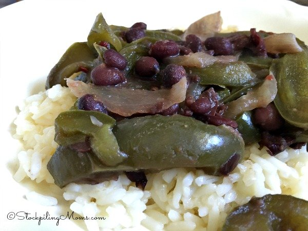 Crockpot Black Bean Fajitas Recipe2