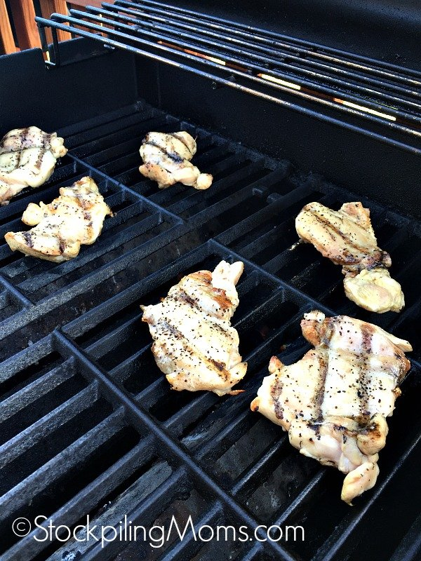 Easy Grilled Chicken Thighs recipe is perfect for a summer barbecue!