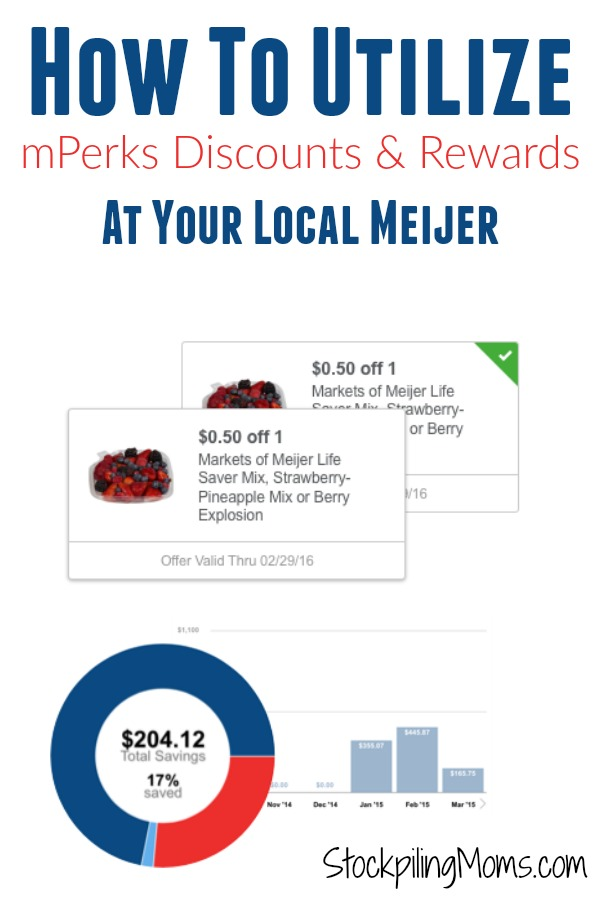 How To Utilize mPerks Discounts & Rewards At Your Local Meijer