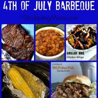 Easy Menu Plan for a 4th of July Barbeque