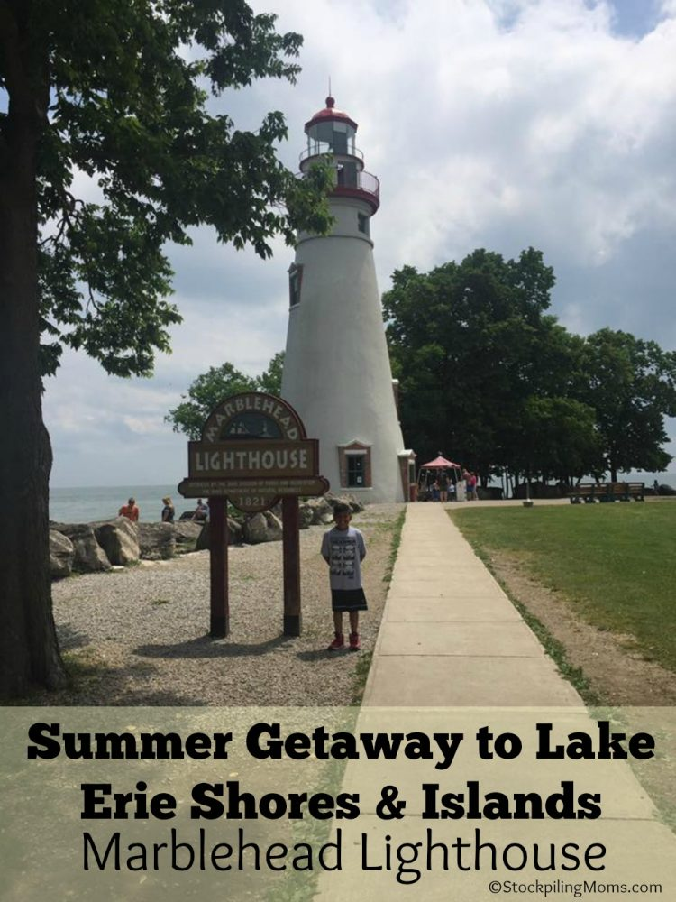 Summer Getaway to Lake Erie Shores & Islands - Marblehead Lighthouse