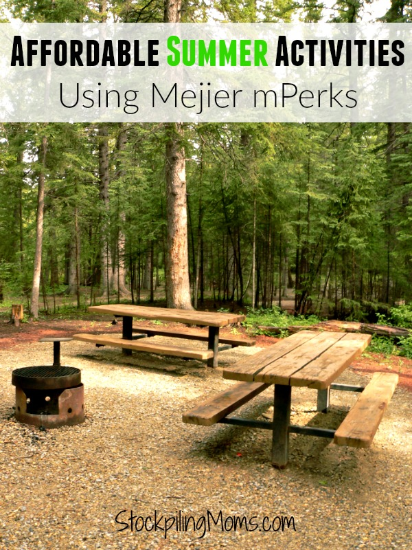 Don't miss our great tips for making summer activities more affordable using your Meije mPerks!
