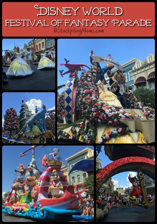 Disney World Festival of Fantasy Parade is a must attend and see on your vacation!