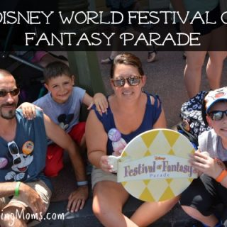 Disney World Festival of Fantasy Parade