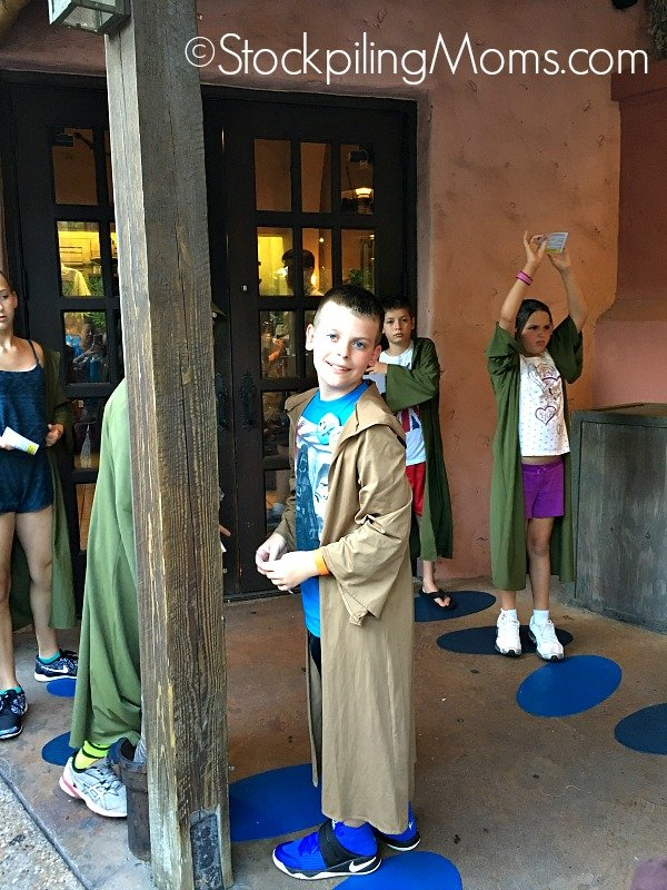 Disney World Hollywood Studios Jedi Training