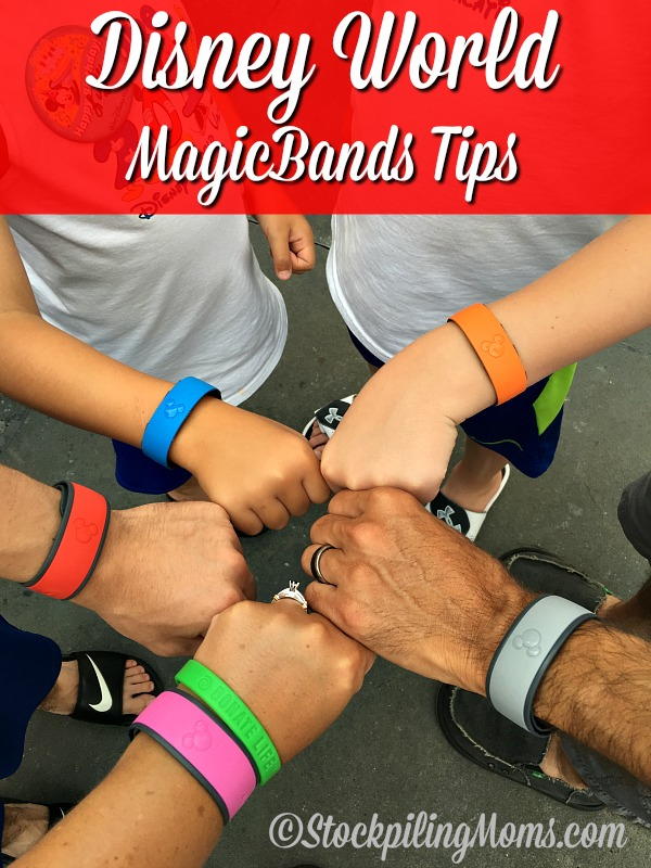 Disney World MagicBands Tips to help you on your next magical trip!