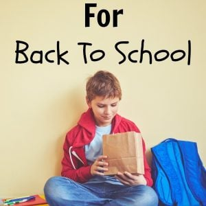 Healthy Packed Lunch Ideas For Back To School