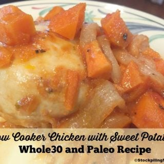 Slow Cooker Chicken with Sweet Potatoes