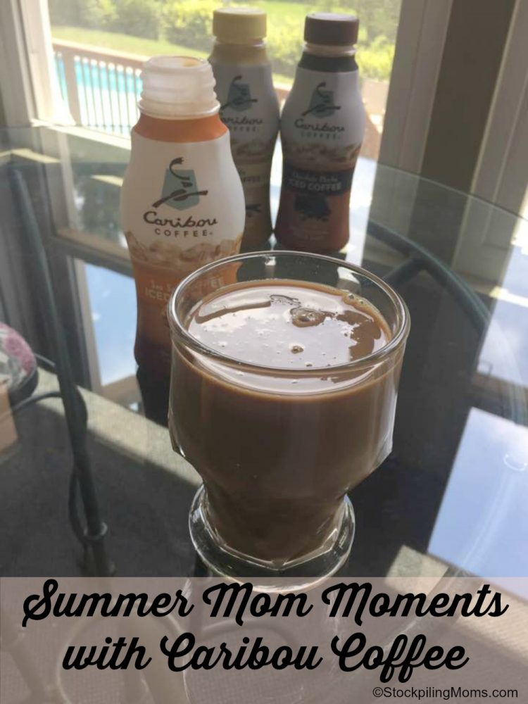 Summer Mom Moments with Caribou Coffee