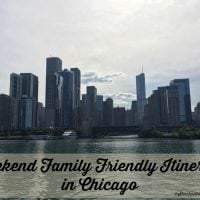 Weekend Family Friendly Itinerary in Chicago
