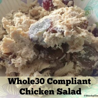 Whole30 Compliant Chicken Salad