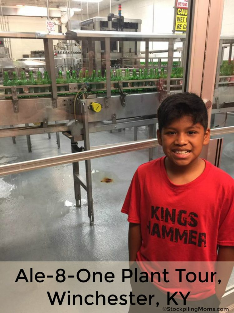 Ale-8-One Plant Tour, Winchester, KY