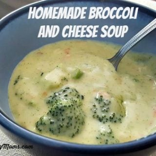 Homemade Broccoli and Cheese Soup