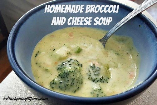 Homemade Broccoli and Cheese Soup recipe is such a great comfort meal that is so fulfilling!