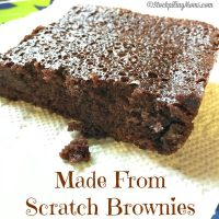 Made From Scratch Brownies