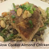 Slow Cooker Almond Chicken