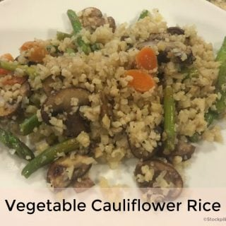 Vegetable Cauliflower Rice