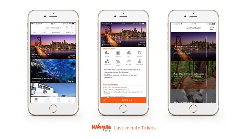 Save money on last-minute travel with Whym
