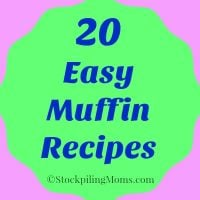 20 Easy Muffin Recipes