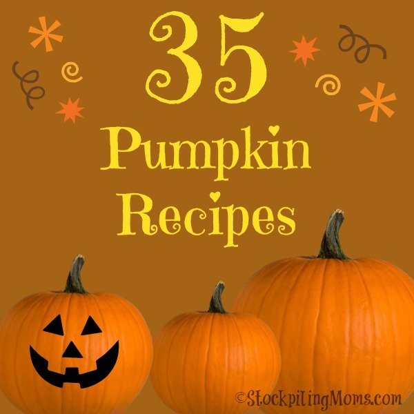 "35 Pumpkin Recipes to crave your ""pumpkin everything"" taste buds!"