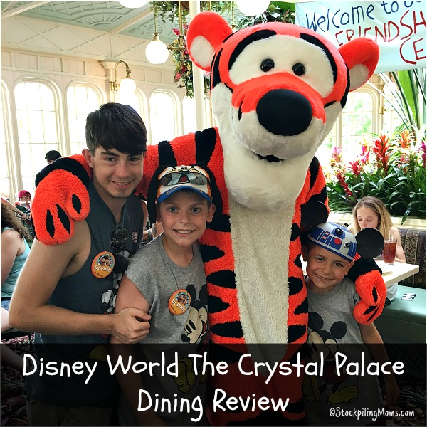 Here is my family's dining review on Disney World The Crystal Palace that is inside Magic Kingdom!