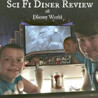 Hollywood Studios Sci Fi Diner Review