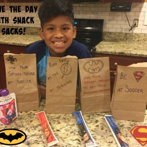 Back-to-School Snack Sack
