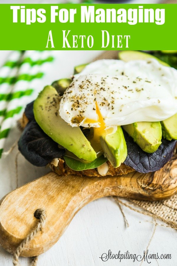Tips For Managing A Keto Diet
