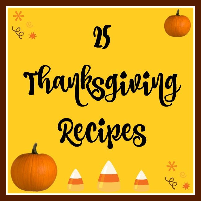 25 Thanksgiving Recipes to make you day tasty!