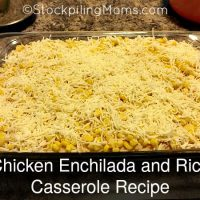 Chicken Enchilada and Rice Casserole Recipe