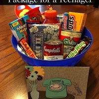 Get Well Care Package for a Teenager