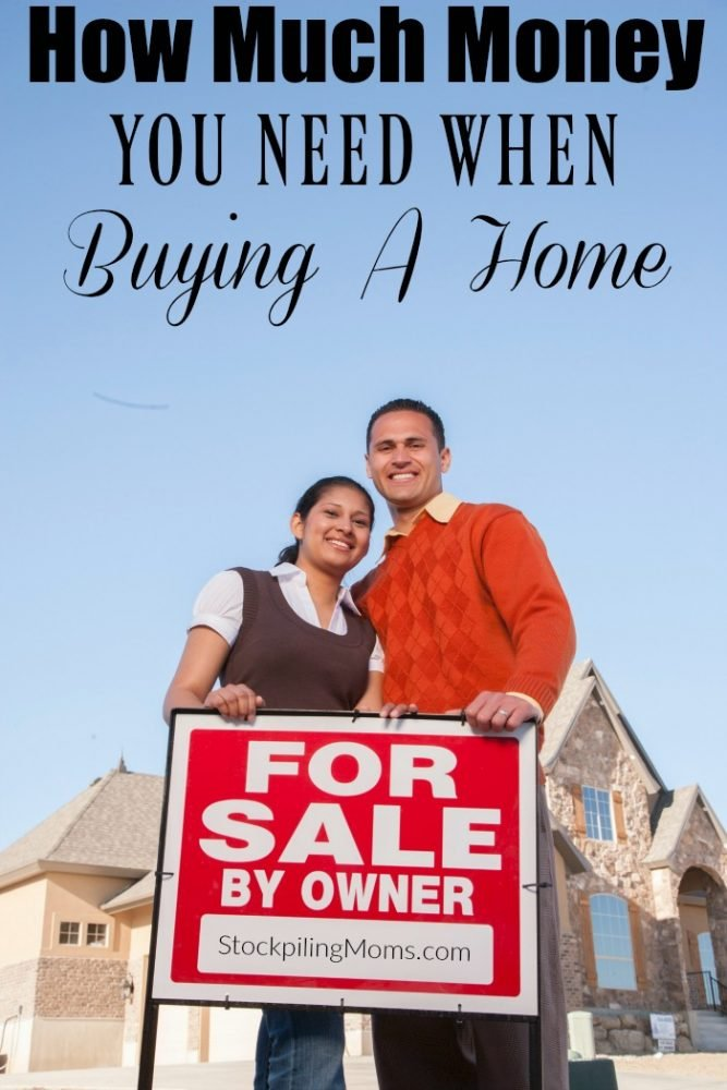how much money to save for buying a home