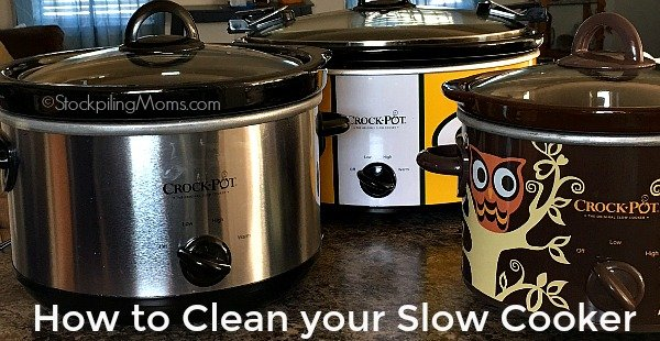 How to Clean your Slow Cooker with one simple ingredient!