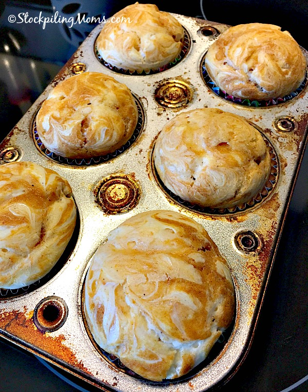Pumpkin Cream Cheese Swirl Muffins recipe is a must try treat this Fall season!