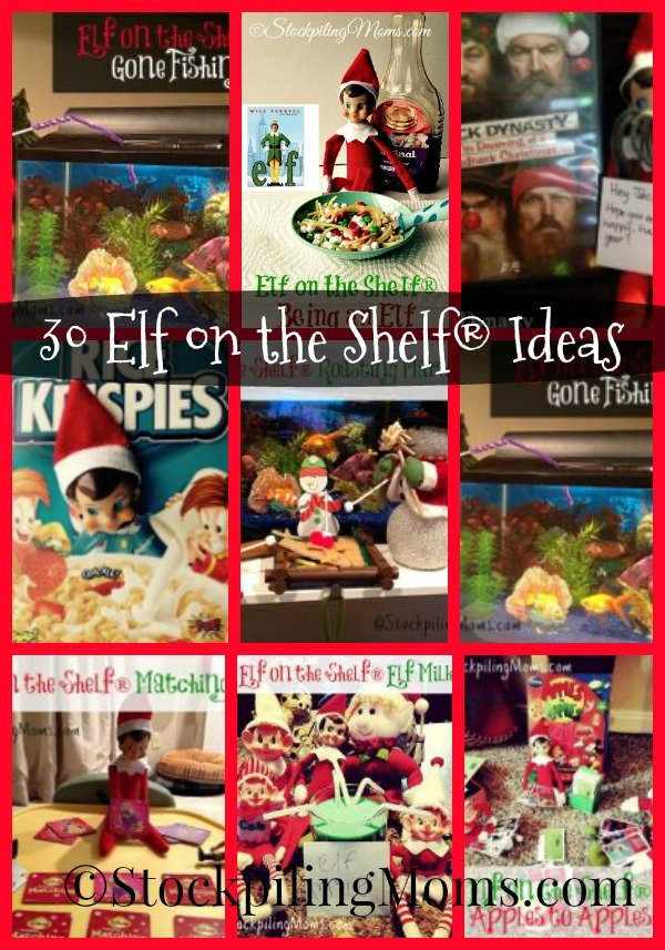 30 Elf on the Shelf® Ideas to help you get through this season!