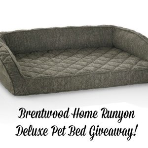 Brentwood Home Runyon Deluxe Pet Bed Giveaway