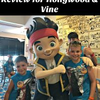 Disney World Dining Review for Hollywood & Vine