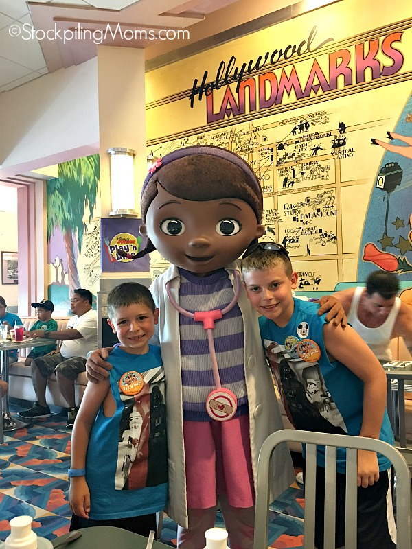 Here is our family's Disney World Dining Review for Hollywood & Vine with Disney Junior characters!