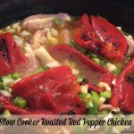 Slow Cooker Roasted Red Pepper Chicken