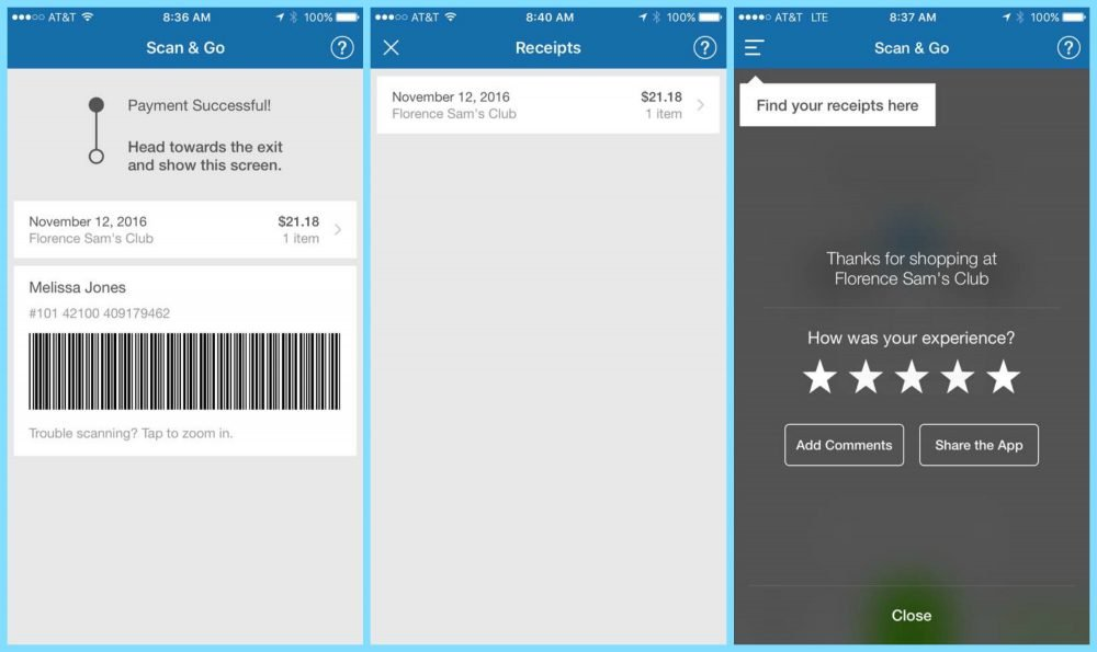 How To Use the Sam\'s Club Scan & Go app