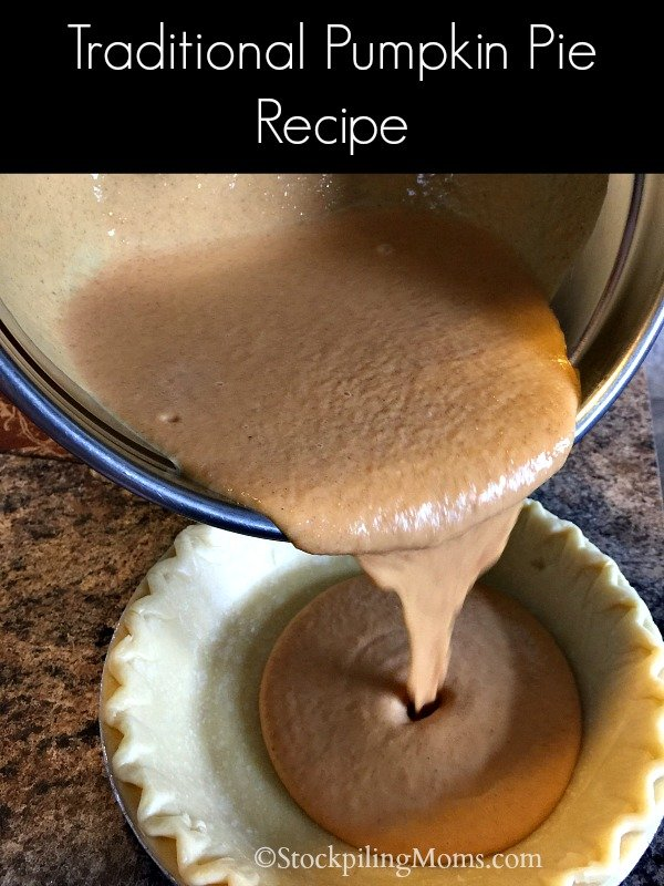 Be sure to enjoy this scrumptious Traditional Pumpkin Pie Recipe this holiday season!