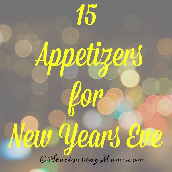 15 Appetizers for New Years Eve to make any party a hit!