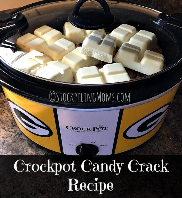 Crockpot Candy Crack Recipe is the easiest slow cooker dessert treat you will ever make!