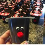 DIY Reindeer Pudding Cups