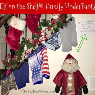 Elf on the Shelf® Family UnderPants