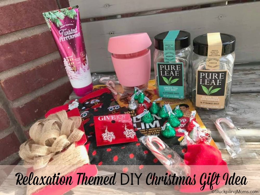 Relaxation themed diy christmas gift idea alternative to Good gifts for gift exchange