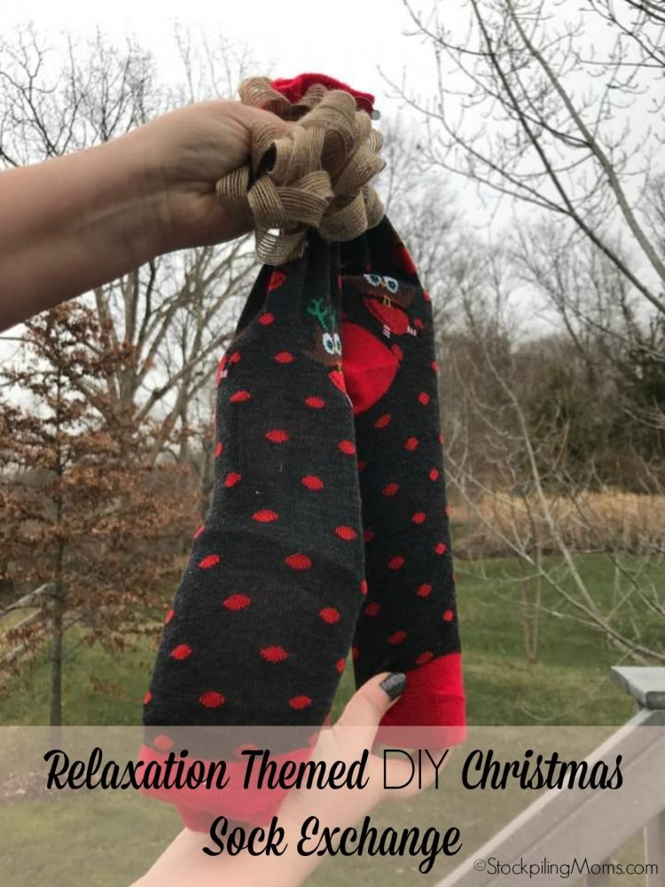 Relaxation themed diy christmas gift idea alternative to white relaxation themed diy christmas sock exchange solutioingenieria Images