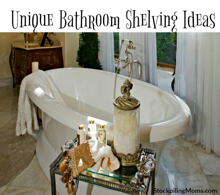 Home Decor Ideas: Check out our tips for the best Unique Bathroom Shelving Ideas!