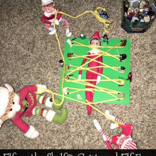 Elf on the Shelf® Captured Elf Fun