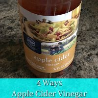4 Ways Apple Cider Vinegar will Help your Skin